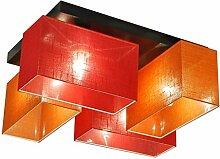 Deckenlampe - HausLeuchten JLS41ORROD - 4