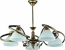 Deckenlampe Wohnzimmer Wohnraumbeleuchtung Messing
