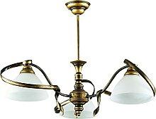 Deckenleuchte Antik Wohnraumlampe Messing Optik