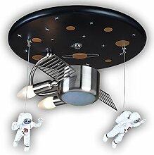 Deckenleuchte Astronaut Spaceman Kunststoff Metall