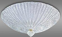 Deckenleuchte aus Murano-Glas granierter Kristall