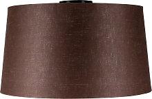 Deckenleuchte Combi matt schwarz mit Lampenschirm