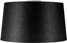 Deckenleuchte Combi weiß mit Schirm 45cm schwarz