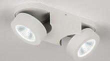 Deckenleuchte Design Modern Aluminium Metall Weiss