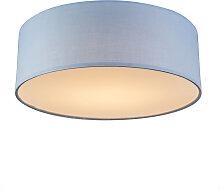 Deckenleuchte Drum LED 30 blau