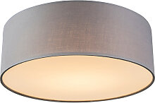 Deckenleuchte Drum LED 30 grau