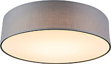 Deckenleuchte Drum LED 40 grau