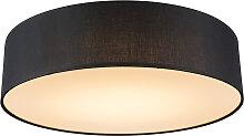 Deckenleuchte Drum LED 40 schwarz