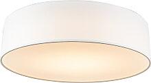 Deckenleuchte Drum LED 40 weiß