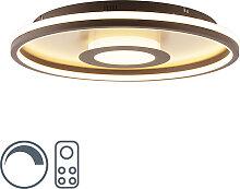 Deckenleuchte Gold 59 cm inkl. LED mit