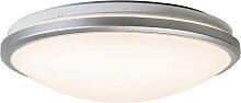 Deckenleuchte grau inkl. LED und Bewegungsmelder -