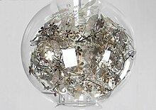 Deckenleuchte Kronleuchter Kugel Glas Kunst