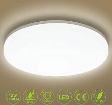 Deckenleuchte LED Deckenlampe 18W 1800LM Ø28cm