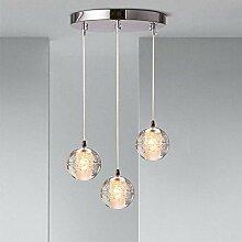 Deckenleuchte LED G4 Maisbirne Kugel Kristallkugel