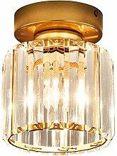 Deckenleuchte LED Rund Kristall Deckenlampe Küche