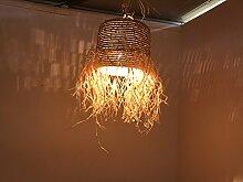 Deckenleuchte Marokkanische Lampe Wandlampe Laterne Weide Ost Hippy Ethnic Shabby Chic V2