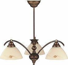 Deckenleuchte Messing Optik Lampe Landhausstil
