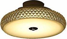Deckenleuchte QIQIDEDIAN Glas Lampenschirm Zimmer
