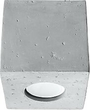 Deckenleuchte QUAD 1xGU10/40W/230V beton