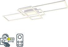 Deckenleuchte weiß inkl. LED, Fernbedienung 3