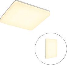 Deckenleuchte weißes Quadrat inkl. LED und