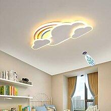HYKISS LED Fan Deckenlampe Dimmbar Deckenventilator Mit Licht Runde Kreative Unsichtbarer L/üfter Deckenleuchte Modern Ventilatorlicht Pendelleuchte Wohnzimmer Esszimmer Schlafzimmer Fan Beleuchtung