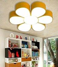 Deckenleuchten - Iron LED Lampe warme Farbe Blumen