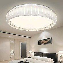 Deckenleuchten, runde LED-Decke modernen