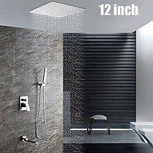 Deckenmontage Bad Duschset Einhand 3 Funktionen