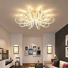 Deckenstrahler - LED-Deckenleuchte Weiß Acryl