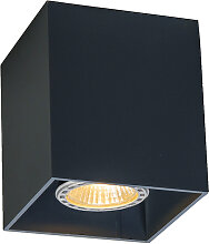 Deckenstrahler Qubo 1 schwarz