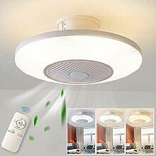 Deckenventilator Licht,LED Dimmbar Fan