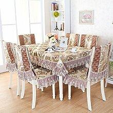 deckt Luxus Stuhl/Stoff Abdeckungen für Rückseite Stühle Polster Kit-A