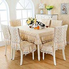 deckt Luxus Stuhl/Stoff Abdeckungen für Rückseite Stühle Polster Kit-H