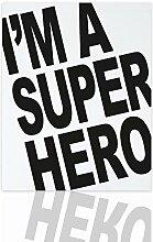 Declea Kinderzimmer Bilderrahmen Superhero Fertig