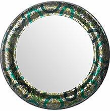 Deco 79Metall Mosaik Spiegel 94cm D