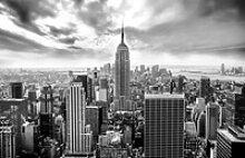 Deco-Block Bild - Over New York 90 x 58 cm