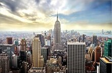 Deco-Canvas Bild - New York 140 x 90 cm