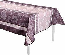Déco de Traum 3663964358500Tischdecke rechteckig Polyester Pink 300x 150cm