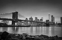 Deco-Panel Bild - New York Bridge 90 x 58 cm