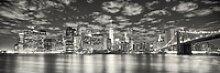Deco-Panel Bild - New York Night 90 x 29 cm