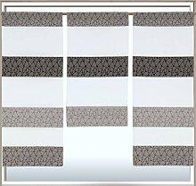 Decocompany Home Design Mini Flächenvorhang Set