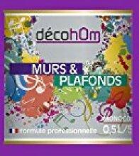 decohom 638097244412Wandmalerei Monoschicht matt 0,5l Jazz viole