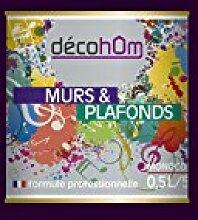 decohom 638097642393Wandmalerei Monoschicht Velours 0,5l Jazz viole