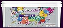 decohom 638097753969Wandmalerei Monoschicht matt 2,5l Jazz viole