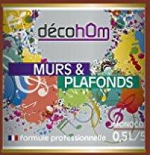 Decohom Einschicht-Wandfarbe, braun, 634154062777