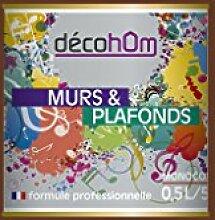 Decohom Einschicht-Wandfarbe, braun, 634154063989