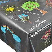DecoHomeTextil Tafeltischdecke Tischdecke Schwarz