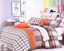 DecoKing 155x200 cm Bettwäsche mit 1 Kissenbezug