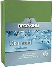 DecoKing 21644 Spannbettlaken 140 x 200 - 160 x
